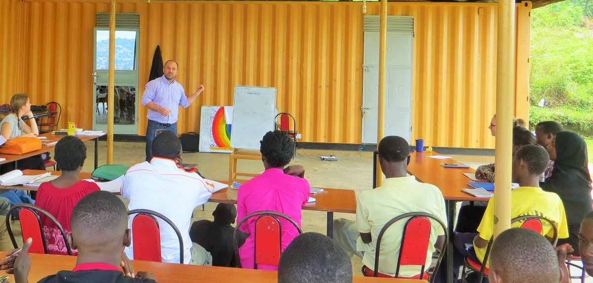 A Personal Branding Session at the Potentiam Youth Centre