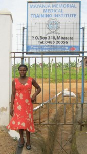 Zarika is part of the programme and branched out of senior four. In the long term she wishes to open up a hospital.