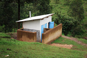 Nursery Building and Latrines Finished
