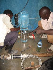 Pumps Stolen & Replaced