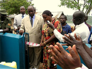 Commissioning of the Kazinga Drinking Water Project