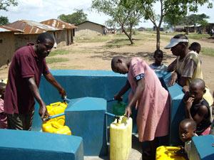 Safe Drinking Water in Kazinga