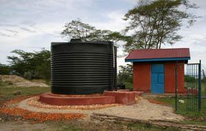 Improved Settlement Tank in Kisenyi