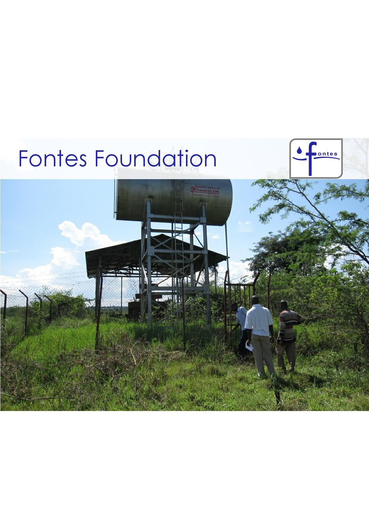 Fontes Foundation Sustainability Brochure