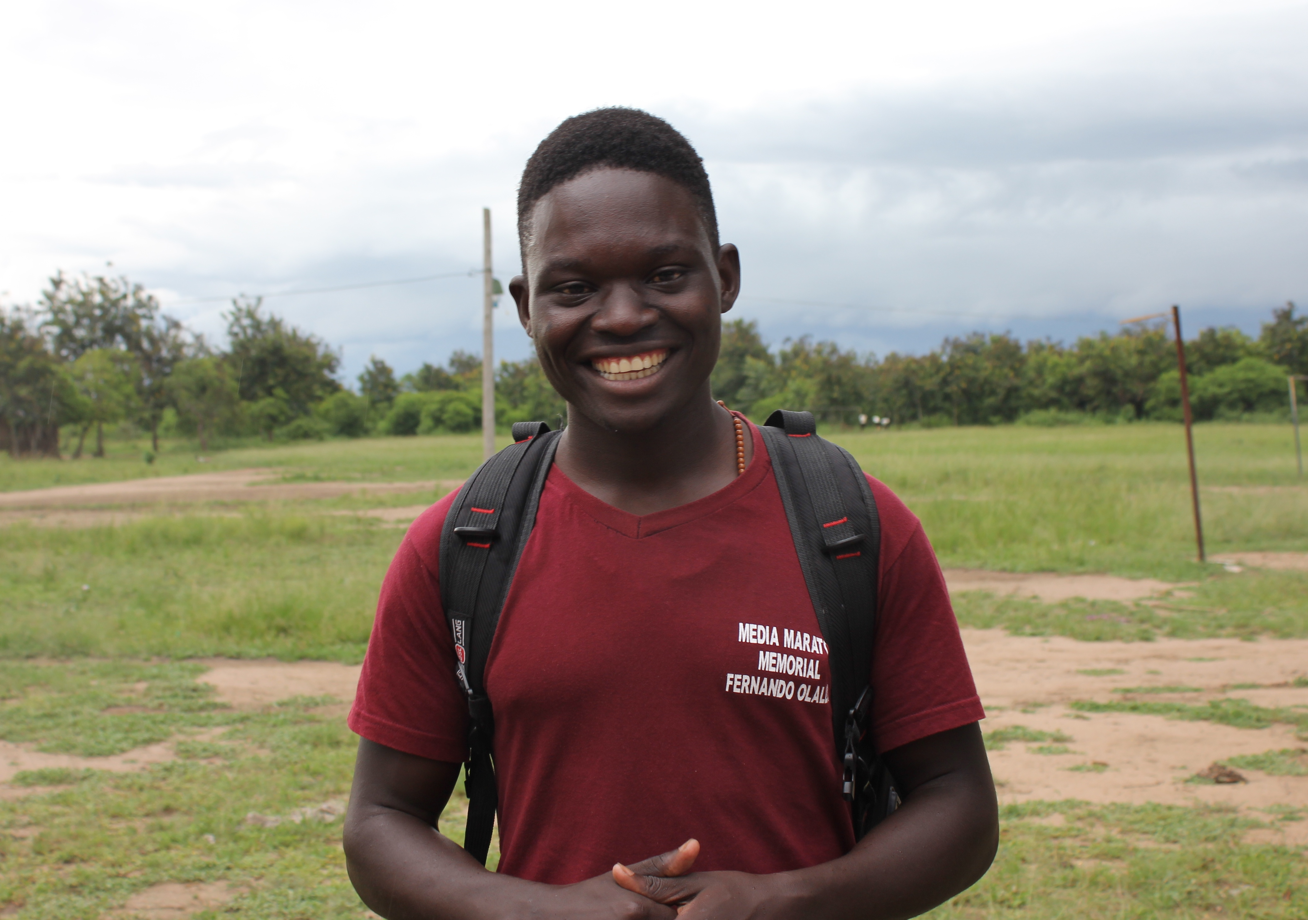 Meet Scholarship Student, Cleophas