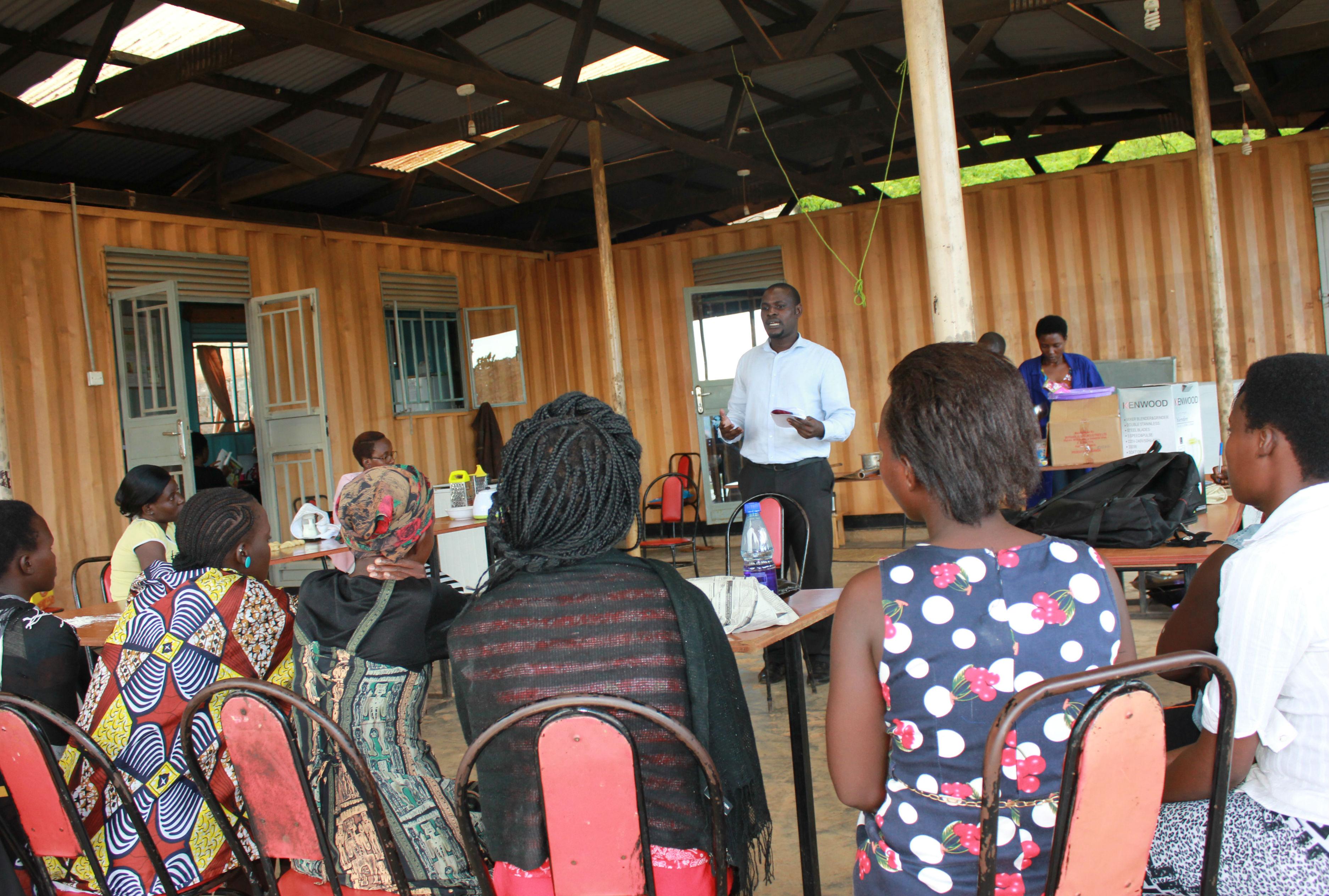 Raymond's FK experience in Rwanda