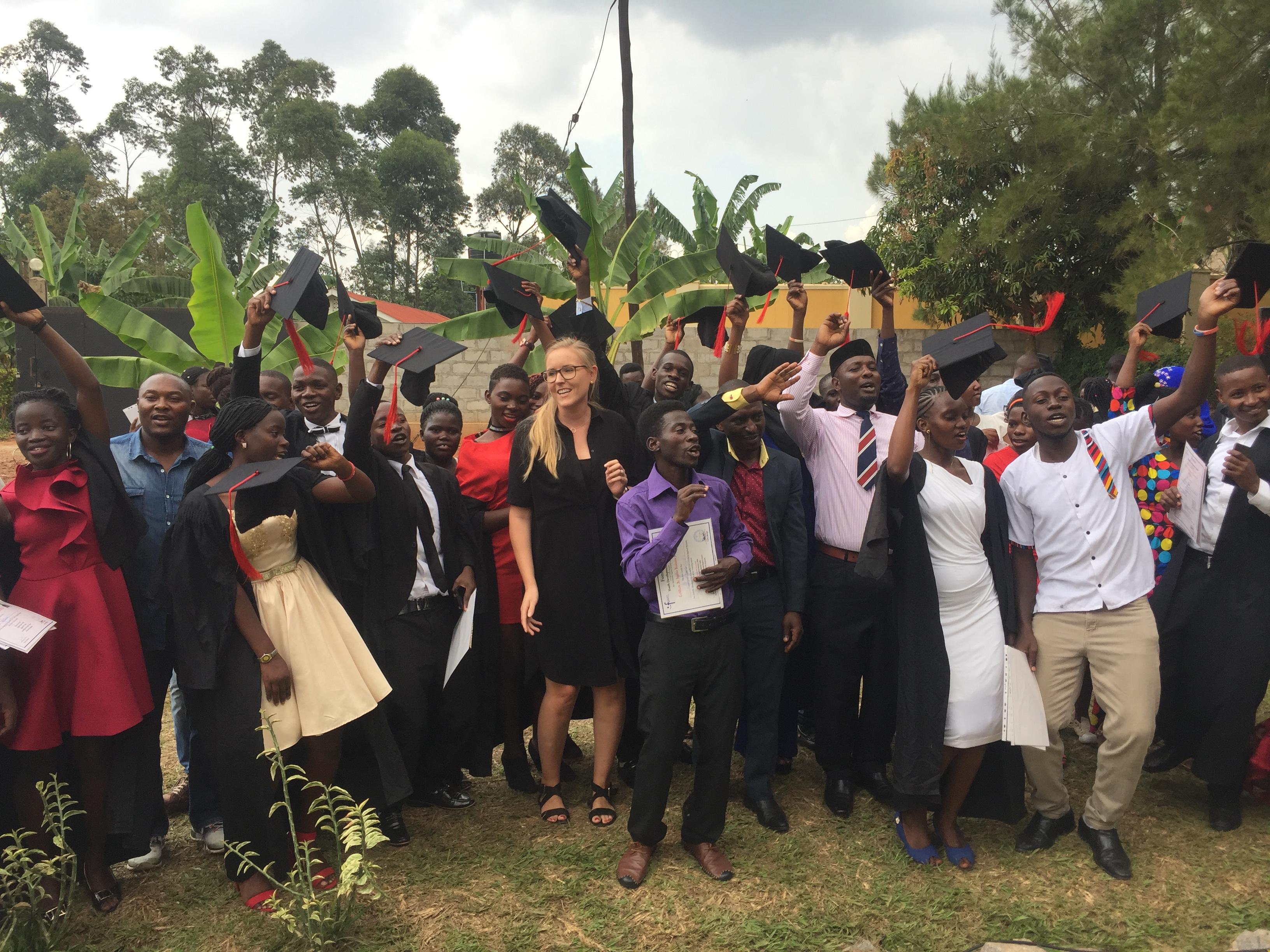 Graduation at Fontes Youth Centre