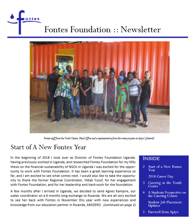 Newsletter 2018-09
